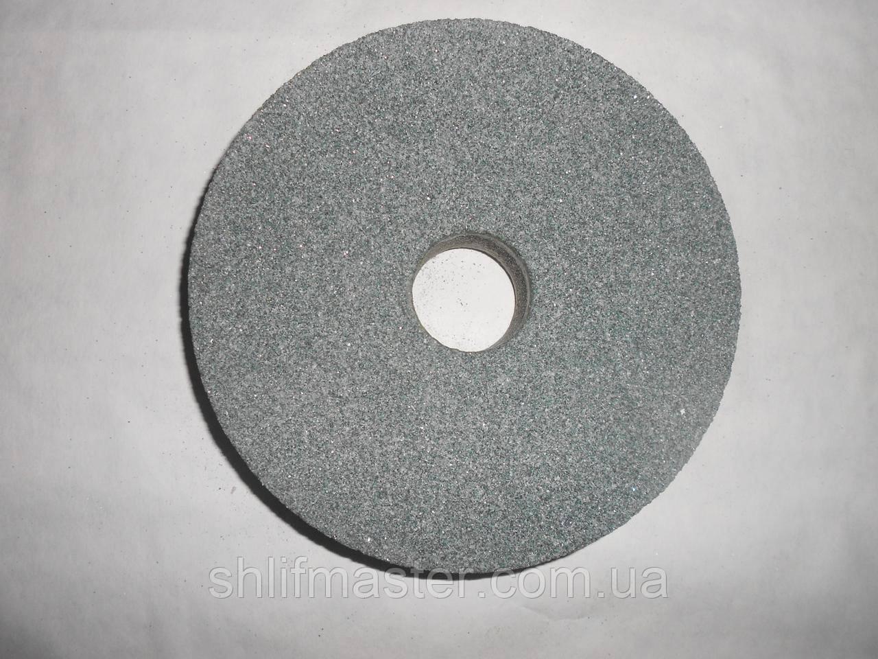 Круг абразивный шлифовальный из карбида кремния 64С (зеленый) 200х20х32 16-40 СМ-СТ
