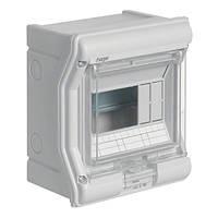 Щит распределительный на 6 модуливй, с / у с прозрачными дверцами, IP65, VECTOR