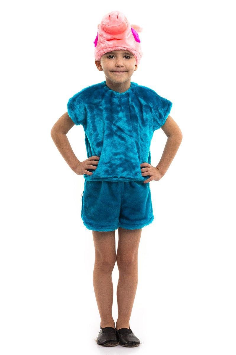 Детский карнавальный костюм поросенок Джордж мех (3-7 лет)