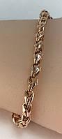 Браслет золотой 585 проба 19.5  см