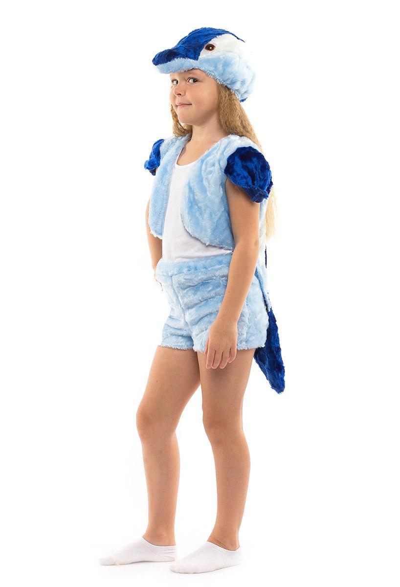 Детский карнавальный костюм Дельфин мех (3-7 лет)