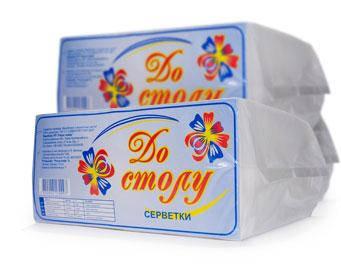 Бумажные салфетки, 100% целлюлоза «Light Horeca Big Pack 450», фото 2