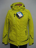 Термо куртка женская Columbia лимон