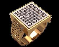 Кольцо Печатка Перстень