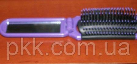 Расчёска для волос складная №399 Ruby Rose
