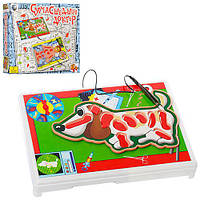 Игра G60354 (24шт) Сумашедший доктор,собака,пинцет,на бат-ке,в кор-ке,30-26-4см