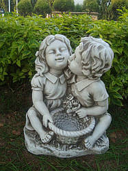 Садовая  фигура Поцелуй 38x30x45cm