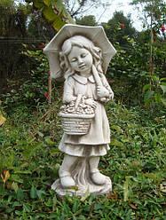 Садовая  фигура Девочка с зонтом