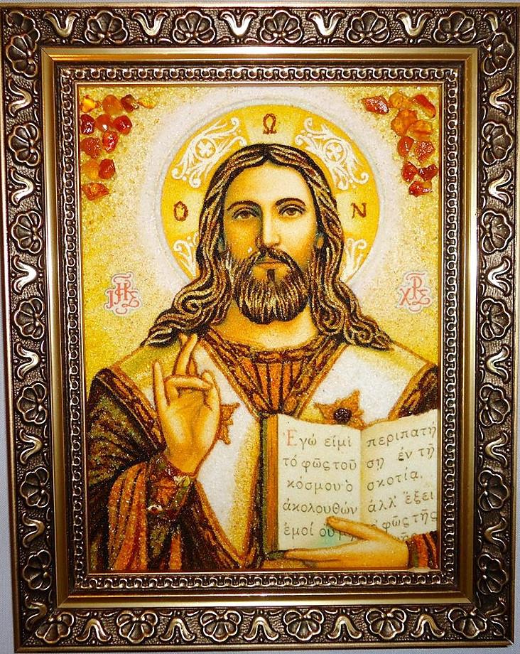 Иисус Христос і-02 Господь Вседержитель (пара с Иверская і-01)