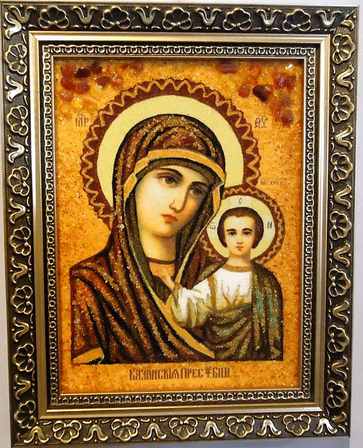 Казанская і-05 Икона Божией Матери