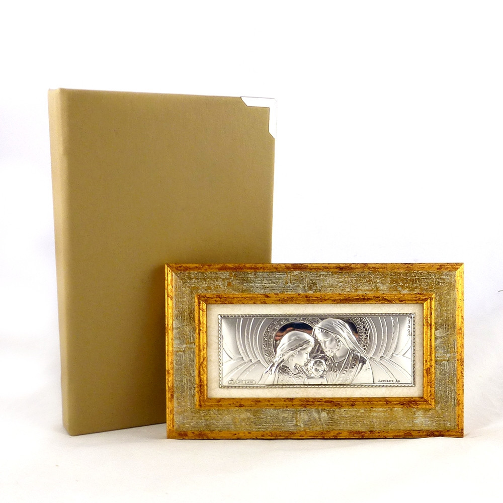 Образ Святое семейство в деревянно рамкей