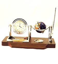 Офисный набор настольный с часами Баланс