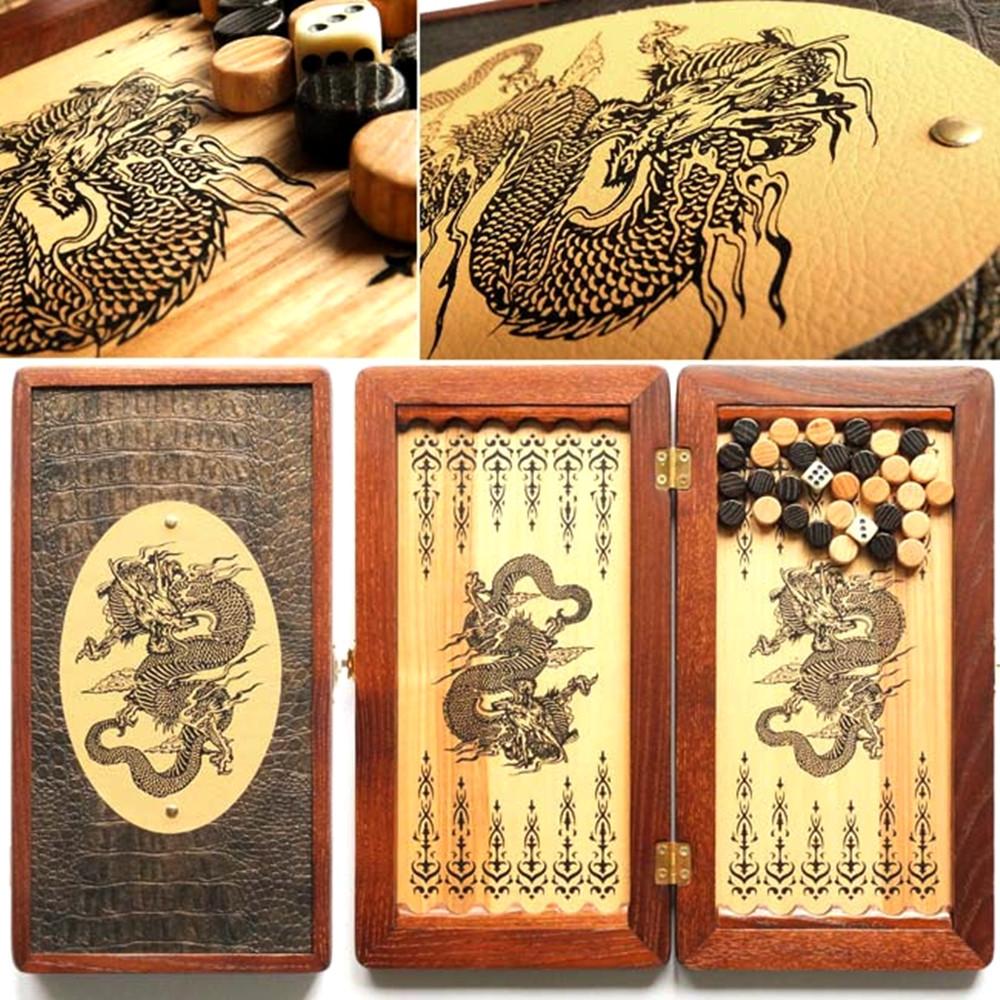 Нарды дорожные Китайский дракон