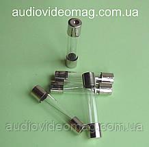 Предохранитель 3А 250V 6 х 30 мм, стеклянный, плавкий. Упаковка - 100 шт