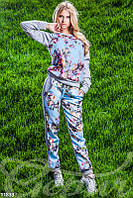 Спортивный костюм принтованный с 3D эффектом Gepur 11833