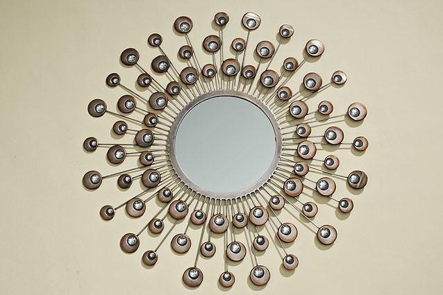 Настенный декор зеркало Расмус