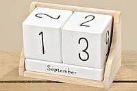 Настольный календарь МДФ 14х7х9см