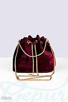 Вечерняя сумка-кисет Gepur 20646