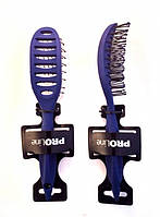 Расческа продувная  ProLINE (цвета-синий,сиреневый,тёмно-салатный)