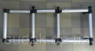 FI032 Сходи, що складається з алюмінієвої труби ø 32(130кг човен від 3,5 м)