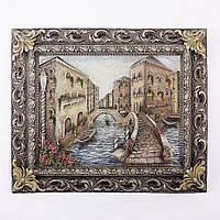 """Картина барельеф """"Венеция мостик"""""""