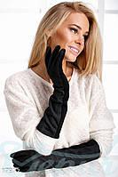Длинные женские перчатки Gepur 17972