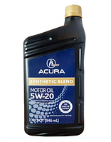 Масло ACURA Synthetic Blend 5W-20 0,946л полусинтетичекое  08798-9033