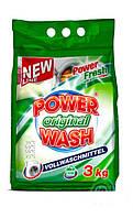 Стиральный порошок Power Wash Original 3кг.
