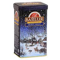 Чай черный цейлонский Basilur коллекция Подарочная Морозная ночь 85г