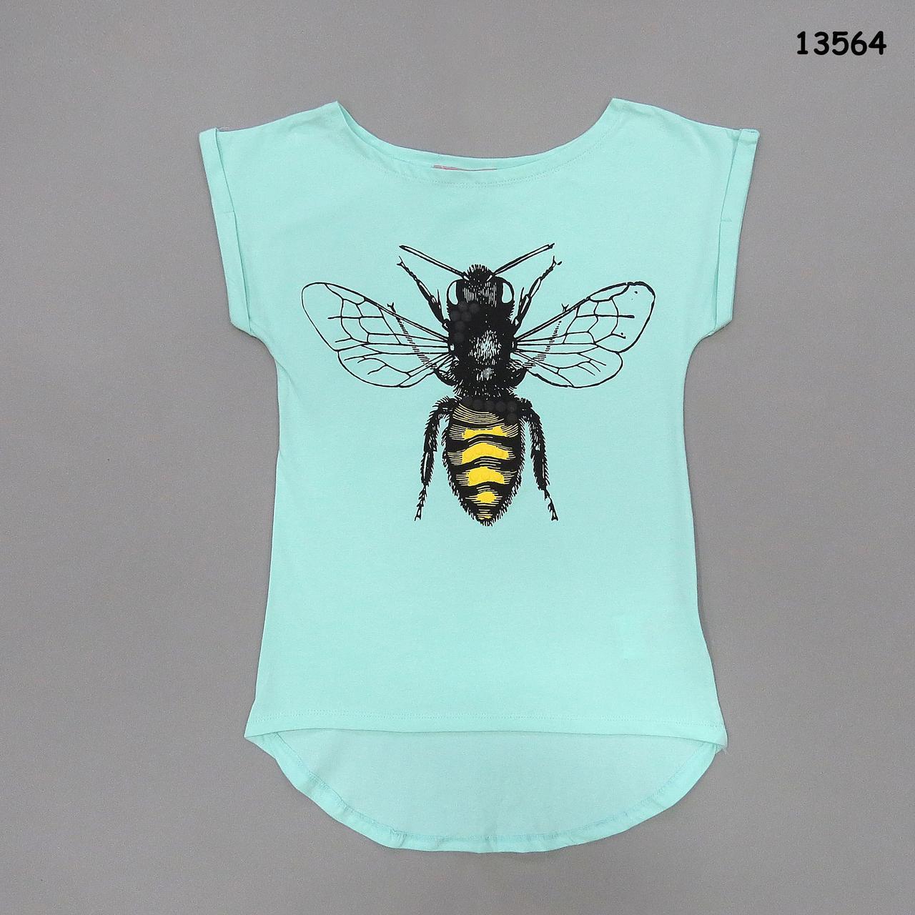 """Туника """"Пчела"""" для девочки. 128, 140, 164 см, фото 1"""