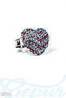Кольцо с камнем Gepur 20750