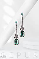 Элегантные серьги-капли Gepur 21069