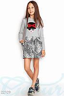 """Интересное платье """"Girl"""" Gepur 22109"""
