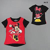 Футболка Minnie Mouse для девочки. 3, 5, 6 лет