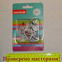 Металлические каттеры Чашелистики, набор 3 шт, фото 1