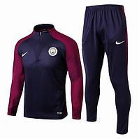 Футбольный тренировочный костюм Манчестер Сити, 17/18 сезон, фото 1