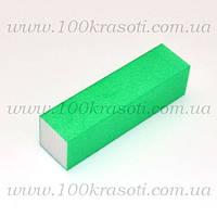 Баф для ногтей зеленый