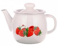 Чайник эмалированный (1 л) Epos Малина, арт. 2707/2Ч