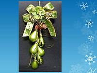 Подвеска - гроздь из шариков-капель , 33 * 15 см