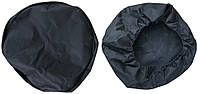 Чехол запасного колеса 13-14 ткань черный