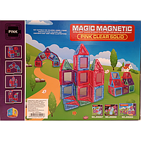 """Магнитный конструктор JH6869 """"MАGIC MAGNETIC"""" 40 деталей, магнитные конструкторы, для развития ребенка"""