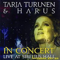 Музичний сд диск TARJA TURUNEN & HARUS In concert Live at Sibelius Hall (2011) (2011) (audio cd)