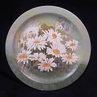 Декор - декупажная тарелка из дерева, 22 см,180/150 (цена за 1 шт. + 30 гр.)
