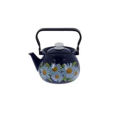 Чайник эмалированный (2 л) Epos Ромашка, арт. 2710/4Ч