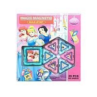 Магнитный конструктор JH8832 Magical Magnet 26 деталей, конструкторы с магнитами