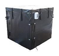 Термокамера ТМ «Апитерм» для роспуска мёда на 18 бидонов 1000 кг или 4 бочки 290 кг мёда на поддоне