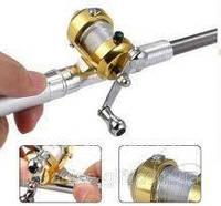 100 % ОРИГИНАЛ Складная походная мини-удочка + катушка, ручка. Для рыбалки, не по плану,очень будет к стате