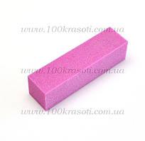Баф для ногтей розовый