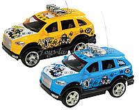 Машина танцует аккумулятор радиоуправление р/у 23811D 2 цвета  в коробке 35*14*15 см.