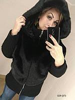 Шубка-куртка из искусственного меха под норку 029 (37)
